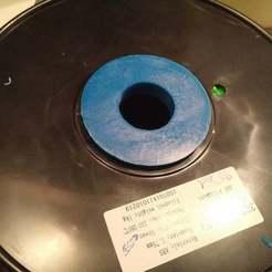 2015-10-09_07.19.52.jpg Télécharger fichier STL gratuit Adaptateur de bobine - 30mm à 52mm • Modèle pour imprimante 3D, bywebberen