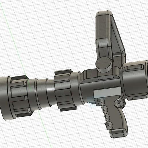 3.jpg Download STL file BOQUILLA CONTRAINCENDIO O PITON • 3D print template, abrahamfire28