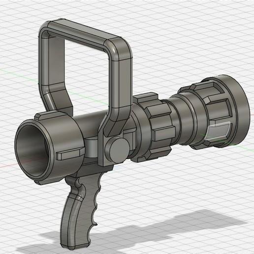 2.jpg Download STL file BOQUILLA CONTRAINCENDIO O PITON • 3D print template, abrahamfire28