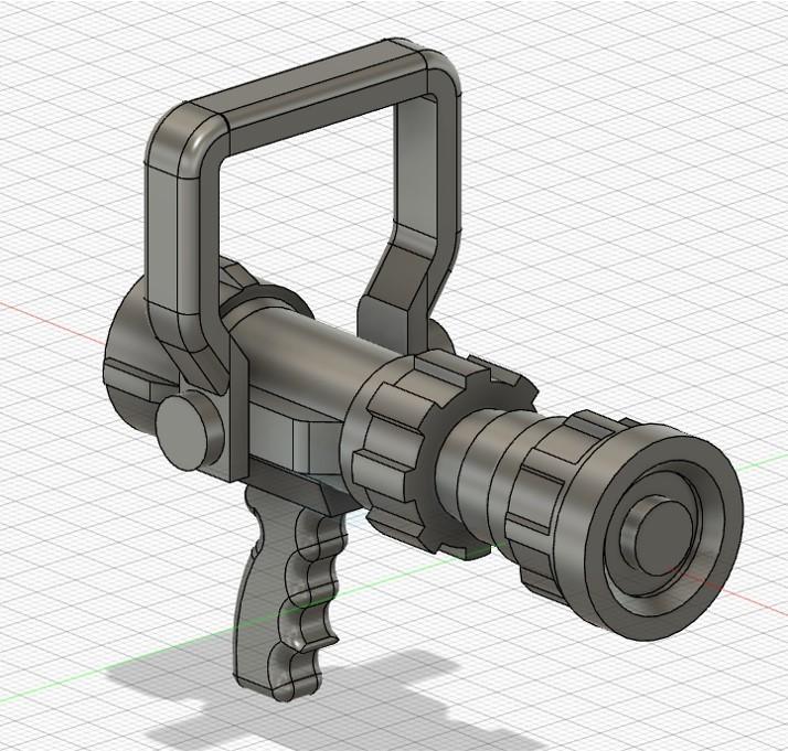 1.jpg Download STL file BOQUILLA CONTRAINCENDIO O PITON • 3D print template, abrahamfire28