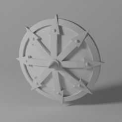 DarkwoodShields1.png Download free STL file Chaotic Marauder Shields • 3D printer object, franceMinute