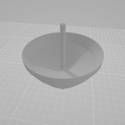 Visor 3D 12-05-2020 5_26_50.png Download free STL file Single Spinning Top • Object to 3D print, Diego19R