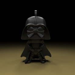 Download free 3D printer designs Darth vader key chain, paltony22