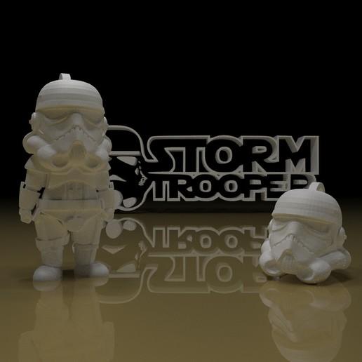 Télécharger fichier STL gratuit PORTE-CLÉS STORMTROOPER • Design pour imprimante 3D, paltony22