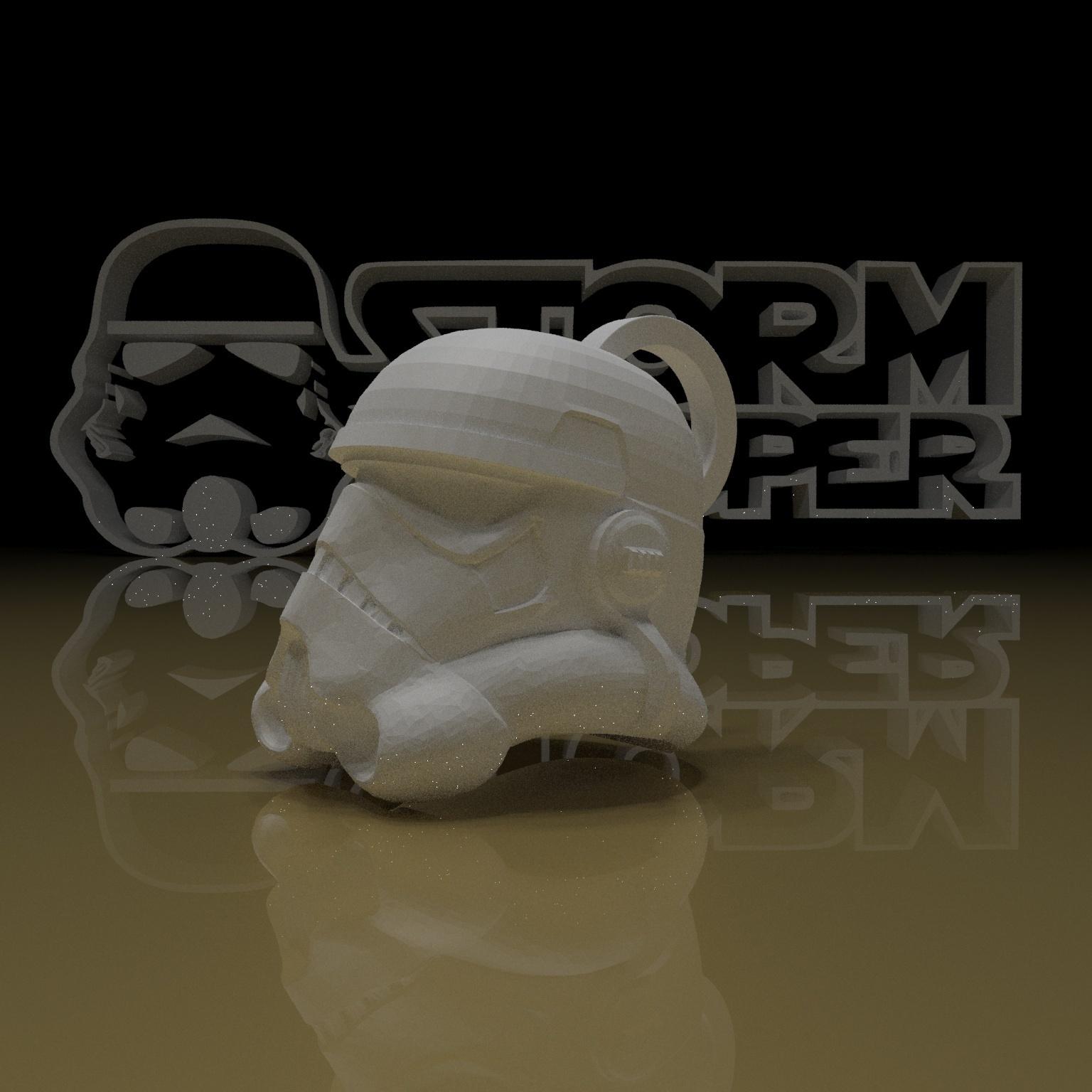 9.jpg Download free STL file STORMTROOPER KEY CHAIN • 3D printing template, paltony22