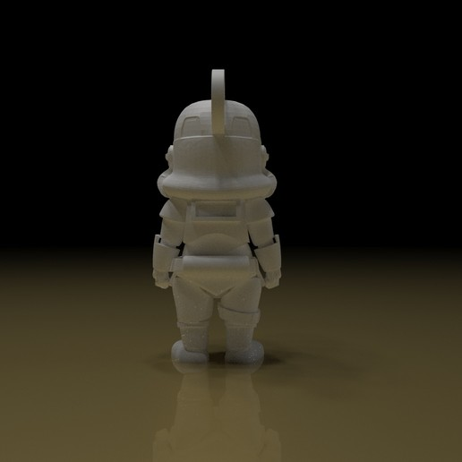 2.jpg Download free STL file STORMTROOPER KEY CHAIN • 3D printing template, paltony22