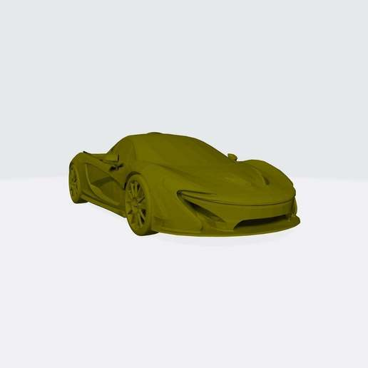 Download free STL file McLaren P1 3D Printable Model • 3D printer object, paltony22