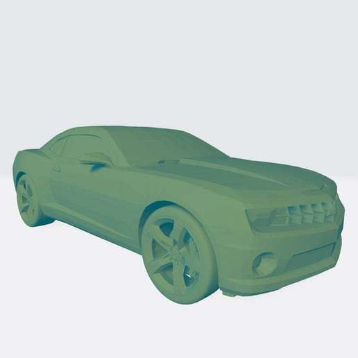 Download free STL file Chevrolet Camaro 3D Model Ready For Print • Model to 3D print, paltony22
