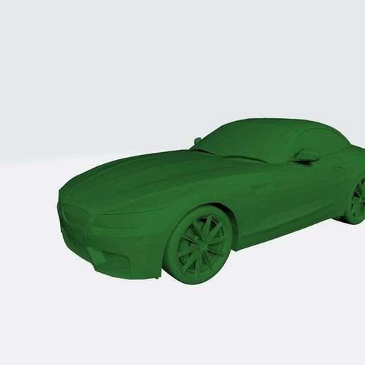 Download free STL file Bmw Z4 3D Model Ready for Print • 3D printing object, paltony22