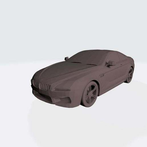Download free STL file Bmw M6 3D Model for Print • 3D printable template, paltony22