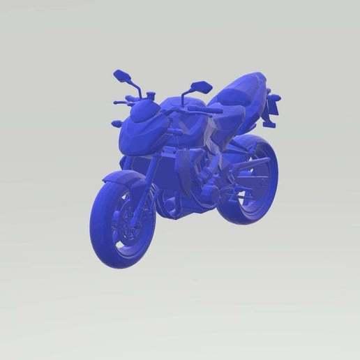 Download free STL file Kawasaki Z 750 3D Model Ready for Print • 3D printer template, paltony22