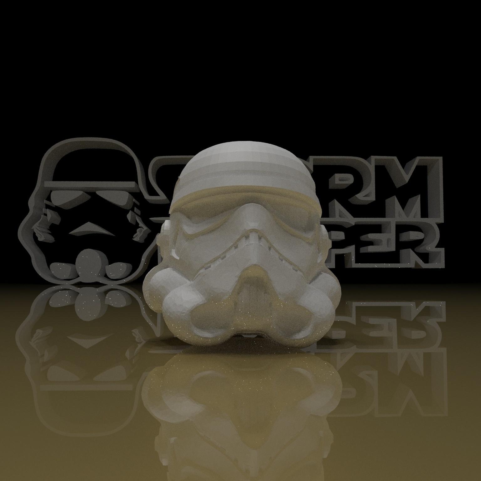 8.jpg Download free STL file STORMTROOPER KEY CHAIN • 3D printing template, paltony22