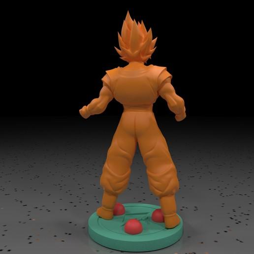 2.jpg Download free STL file Goku (Super Saiyan) • 3D printer template, paltony22