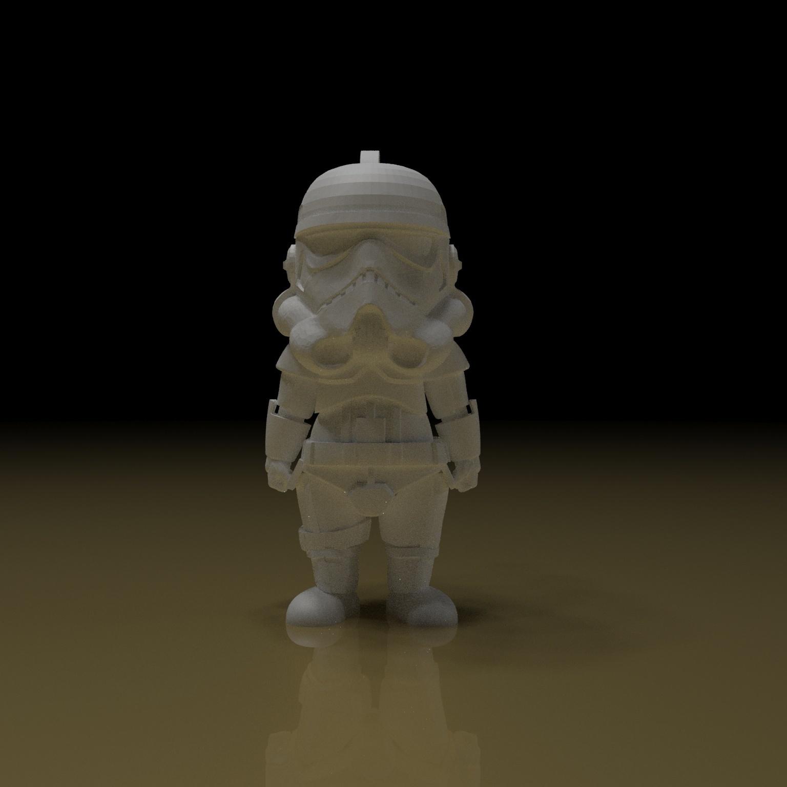1.jpg Download free STL file STORMTROOPER KEY CHAIN • 3D printing template, paltony22