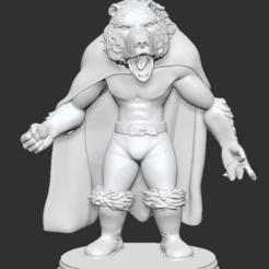 Descargar archivos 3D gratis Werebear, btorfe