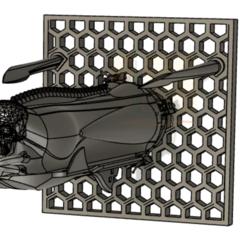 2020-06-19_16h50_15.png Télécharger fichier STL gratuit Albator 2013 Arcadia 3D Frame • Modèle imprimable en 3D, SilXProduction