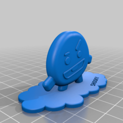 BT21-shooky.png Download free STL file BT21 - Shooky • 3D print object, SilXProduction