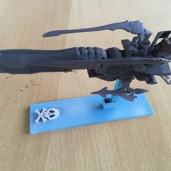 IMG_0332.JPG Télécharger fichier STL gratuit Albator 2013 Arcadia Figurine • Plan pour imprimante 3D, SilXProduction