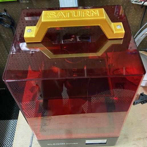 Télécharger fichier STL Poignée pour Elegoo Saturn • Objet pour impression 3D, kwvalentine1961