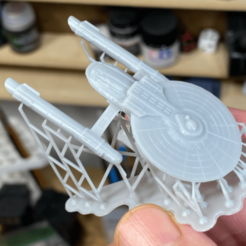 ares-printed.png Download free STL file Ares Class Cruiser • Template to 3D print, wolfkeeper