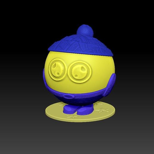 1.JPG Download free STL file Candy boy • 3D printing object, DEssen