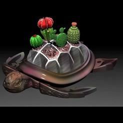 Descargar diseños 3D gratis Jarrón de cactus, DEssen