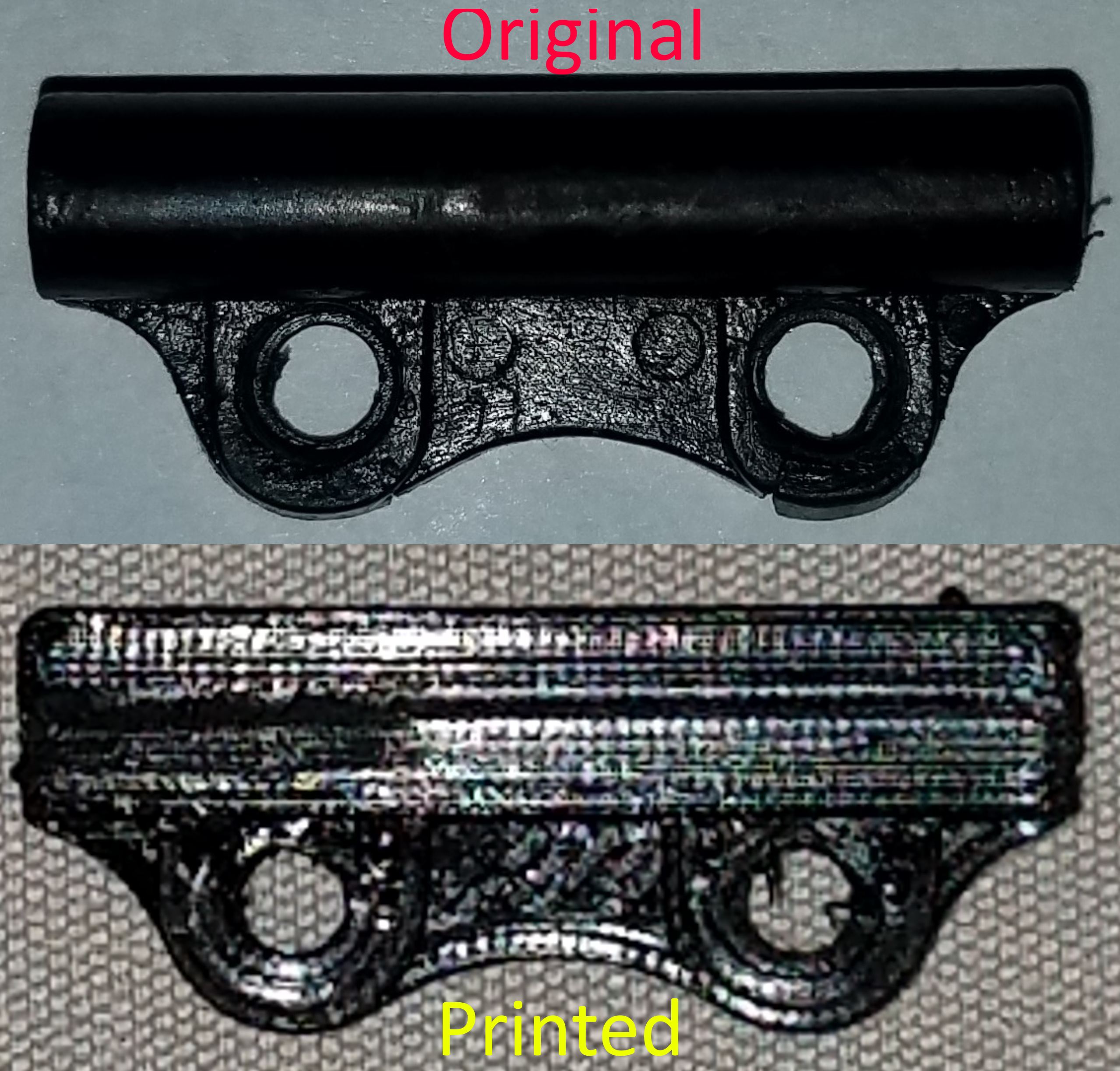 Comparison image.png Download STL file MicroMax 380 Plunger Tube A046 • 3D print object, Dito49