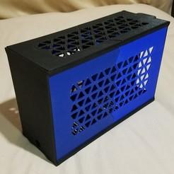 20200908_183838.jpg Télécharger fichier STL Affaire ITX Gaming PC • Plan pour imprimante 3D, Dito49