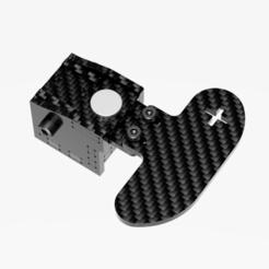BetterPaddle v12.png Download STL file Magnetic Bearing Paddle Shifters (Sim Racing, Carbon Fiber) • 3D printing object, jtkw