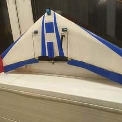 IMG_6065.JPG Télécharger fichier STL Pièces en plastique pour la fabrication d'une aile volante • Design imprimable en 3D, usovv