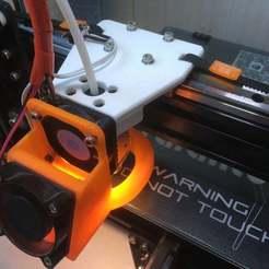 Descargar modelo 3D gratis Carro del eje X sobre guías lineales (Tártula de Tevo), usovv