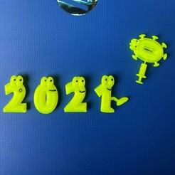 IMG_4246.JPG Download free STL file goodbye 2020 • 3D printable template, ergio959
