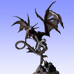 dragon 0.jpg Télécharger fichier STL Imaginez un dragon. • Modèle pour impression 3D, ergio959