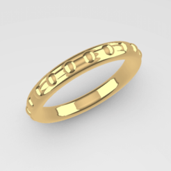 Anillo1.png Download STL file Alliance of embedded spheres • Template to 3D print, trepsidonia