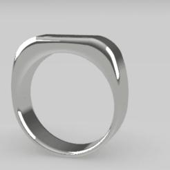 Télécharger fichier STL Bague ronde moderne - taille 17 • Design imprimable en 3D, palopezlafuente