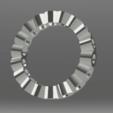 Télécharger fichier STL gratuit Anneau de mariage - taille 16 • Design imprimable en 3D, palopezlafuente