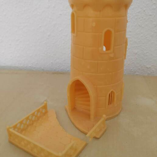Download free STL file Dice Tower sized for resin printers • Model to 3D print, trepsidonia