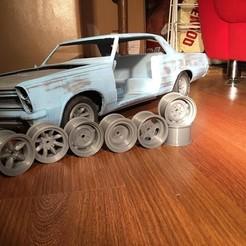 Télécharger fichier imprimante 3D 1.9 Jantes de voiture Rc, Charlie3160