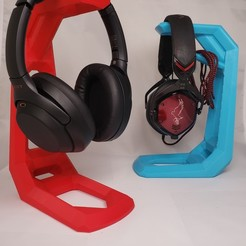 Download 3D printer files Headphone Stand, rstack41