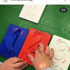 WhatsApp Image 2020-11-12 at 18.06.29 (1).jpeg Download free STL file Montessori style number plates - Montessori Education • 3D print template, marina_littlethings