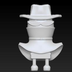 Descargar archivos STL Huevo de caricatura en 3D (archivo), Peppyeta7
