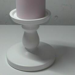 kerzenstand_Moment.jpg Télécharger fichier STL gratuit Porte-bougie 3d imprimé • Modèle à imprimer en 3D, Gouza-Tech