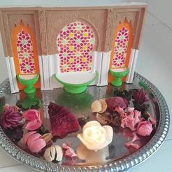 foto2-min.jpg Télécharger fichier STL gratuit Fontaine Mosaik marocaine • Design à imprimer en 3D, Gouza-Tech