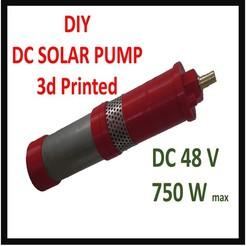 Descargar modelos 3D para imprimir Potente bomba sumergible de corriente continua, Gouza-Tech