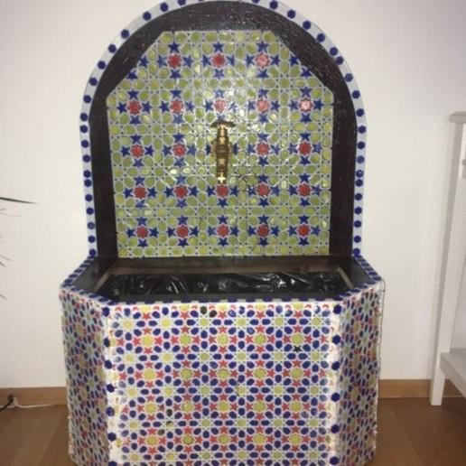 test1.jpg Download free STL file Oriental Mosaik Fontain • 3D print design, Gouza-Tech