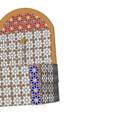 Descargar modelos 3D Mosaico marroquí, Gouza-Tech