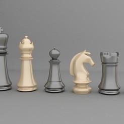 Descargar archivos STL Chess Set, RicardoAGilesBuzo