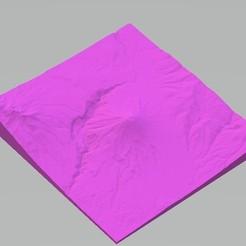 Download 3D printing models Misti-Arequipa-Peru Volcano, Borichi