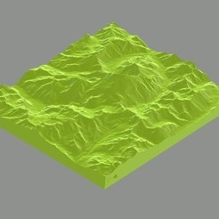 Download 3D printing templates Aconcagua_Argentina, Borichi