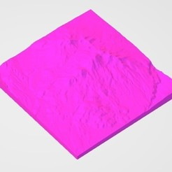 Download 3D print files Chachani-Peru Volcano, Borichi